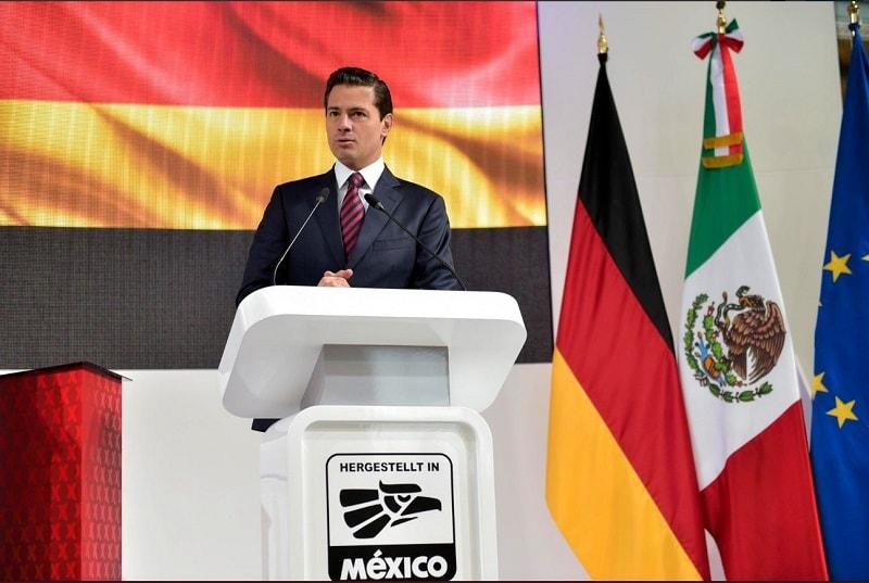 En su visita a Alemania, el presidente Peña Nieto invitó a invertir en las Zonas Económicas Especiales.