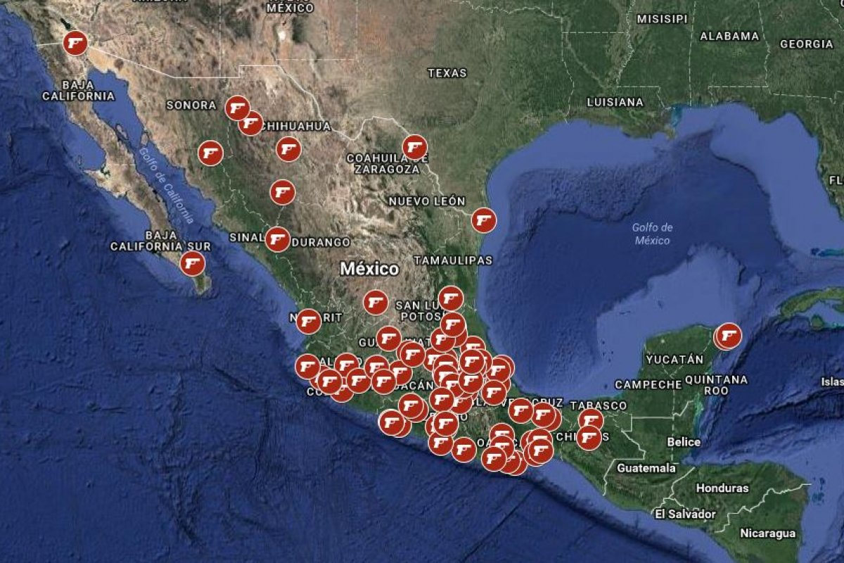 Arena Pública te presenta el mapa de la violencia electoral donde podrás conocer los datos de los políticos asesinados en la contienda de las elecciones 2018.
