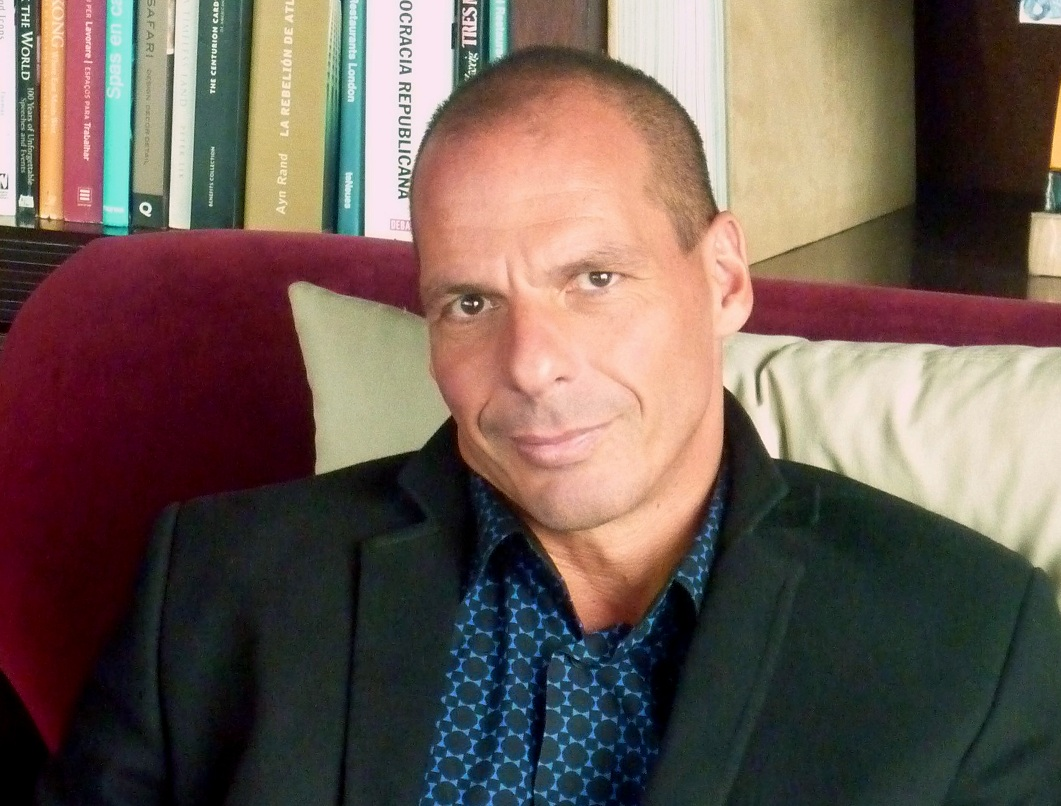 El economista griego Yanis Varoufakis.