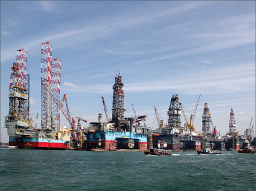 Astillero de Keppel Offshore & Marine.