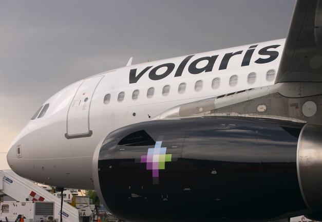 Aeronave de la flota de Volaris.
