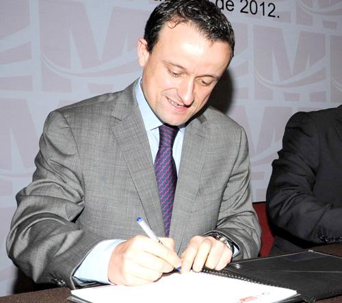 Mikel Arriola, comisionado de Cofepris.