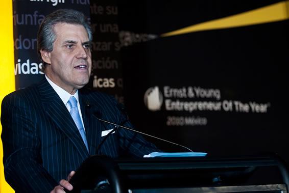 Alberto Tiburcio, presidente de Ernst & Young.