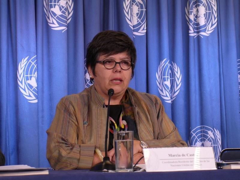 Nos gustaría ver más gobernadoras y, eventualmente una presidenta, dijola representante de la ONU en México.