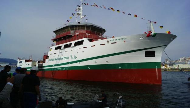 La construcción tardó 18 meses y fue hecha por la empresa española Astilleros Armón Vigo.