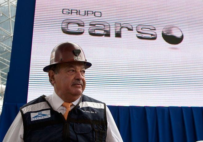Ambas compañías ligadas a Carlos Slim, cuentan con acciones de la telefónica América Móvil, también propiedad del magnate.