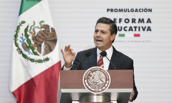 Peña Nieto se mantiene en el nivel medio de cinco clasificaciones para el continente americano.