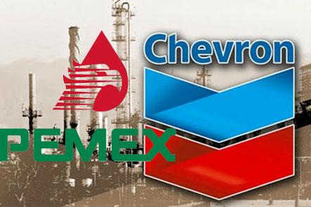 La paraestatal mexicana y Chevron ya trabajaron juntos en 2007 bajo un esquema de cooperación científica.