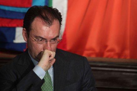Luis Videgaray justificó lo bajo de la cifra al señalar que un 2.7% es superior al promedio de crecimiento en 14 años.