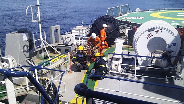 Los datos obtenidos por la empresa en mar y tierra serán procesados en su centro de alto desempeño en Texas.