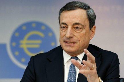 Mario Draghi calificó la situación actual de la eurozona como
