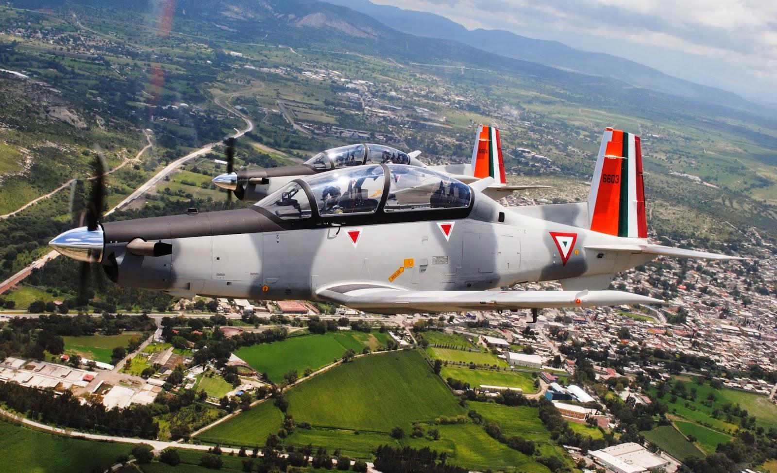 Los nuevos Texan II estarán al servicio de los escuadrones aéreos 201, 202 y 203.