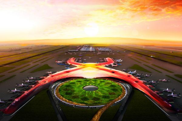 La primera etapa del nuevo Aeropuerto Internacional de la Ciudad de México comenzará a construirse en el 2018