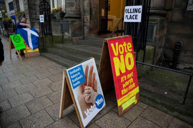 Los resultados de las votaciones se esperan el viernes; sin embargo ciudades como Glasgow, Edimburgo y Aberdeen entregarán urnas a partir de hoy en la tarde.