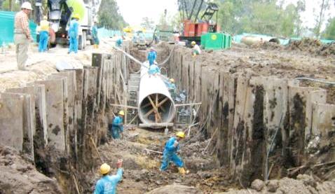 El acueducto garantizará el suministro de agua durante los próximos 30 años.