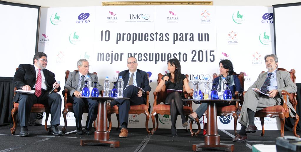 Seis organizaciones han urgido a contar con un PEF 2015 más transparente y eficiente.