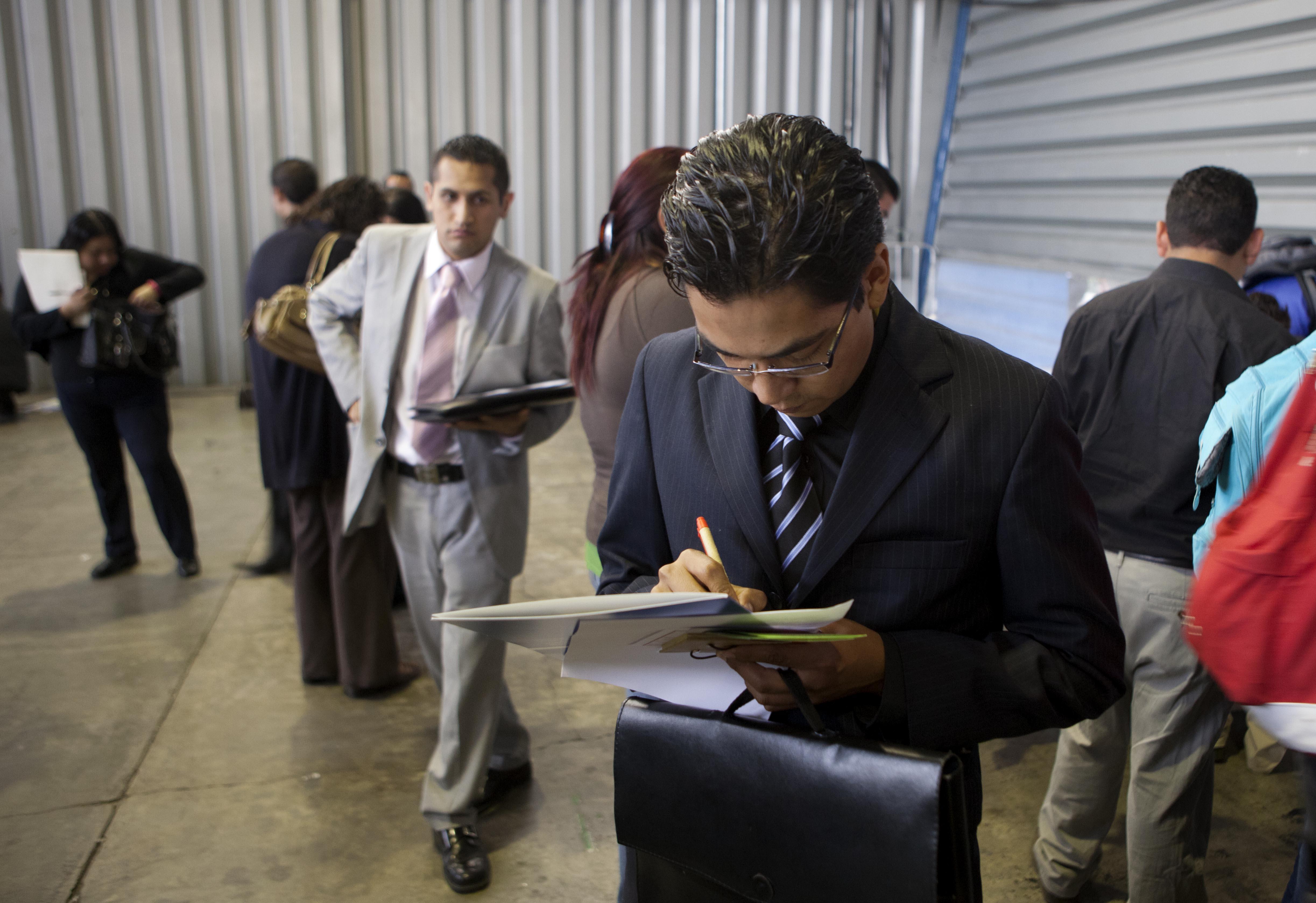 En México el desempleo generalmente tiende a aumentar durante el tercer trimestre para luego disminuir al concluir el año.