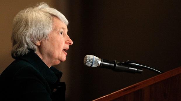 Analistas calificaron de dovish ó sin cambios el anunció de política de la presidenta de la Fed, Janet Yellen.