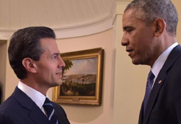 El presidente de Estados Unidos, Barack Obama, dijo que su gobierno ha seguido con preocupación los eventos de Iguala y aseguró haber hablado de ese tema con el presidente de México.