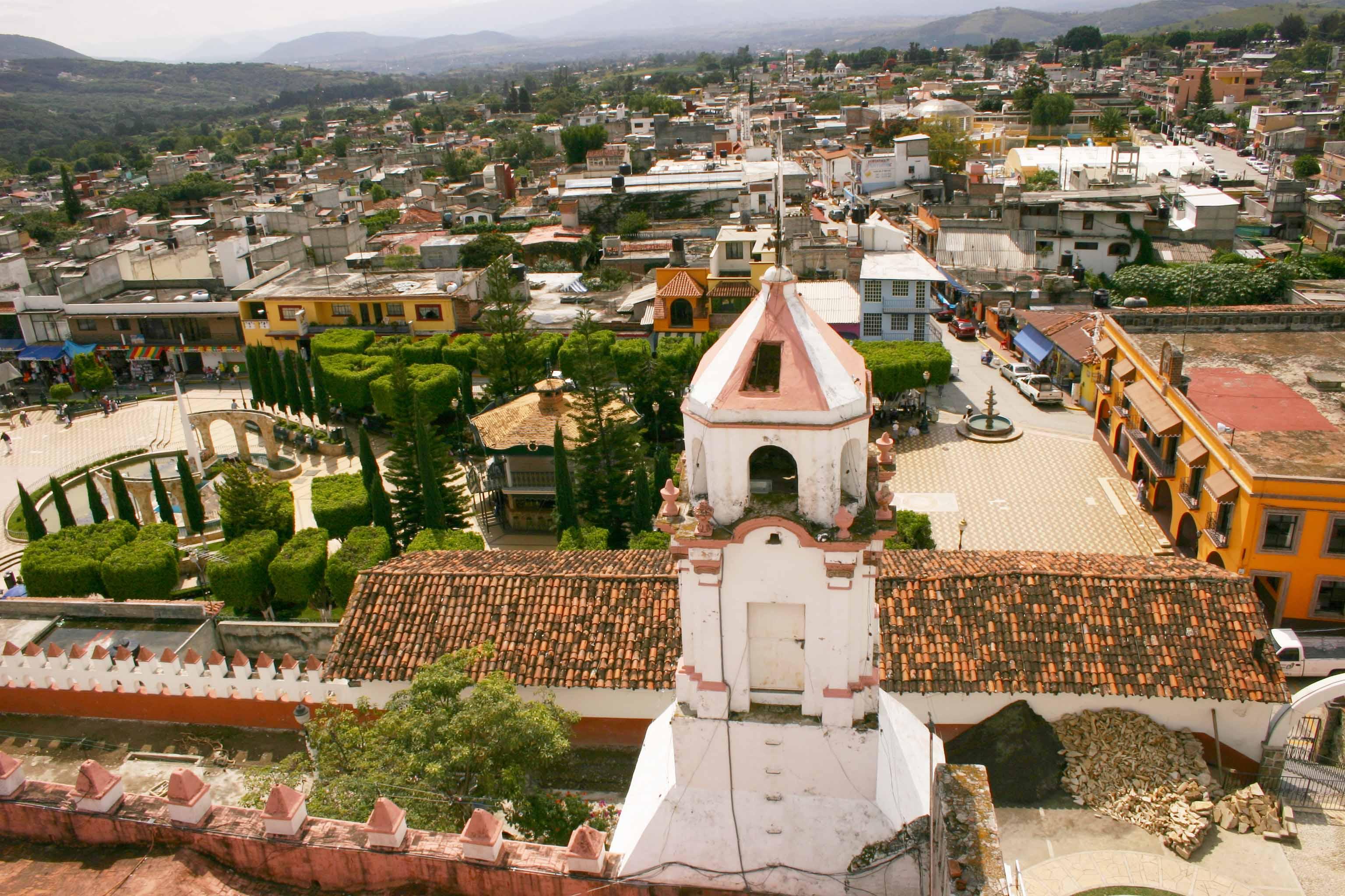 La nueva casa destapada está en Ixtapan de la Sal.