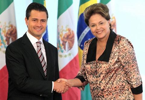 Brasil tuvo en 2014 un déficit de 1,200 millones de dólares con México en el comercio de autos y partes.