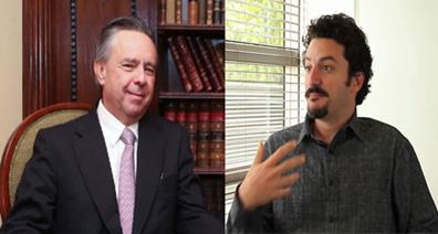 Eduardo Medina negó que durante su gestión al frente de la PGR se violaran derechos humanos, los académicos le solicitan seriedad.