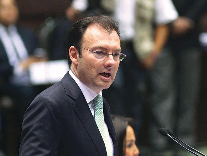 En 2014 el crédito a Mipymes creció en 9% y se redujo la tasa de interés hasta en 8 puntos porcentuales, informó Luis Videgaray.