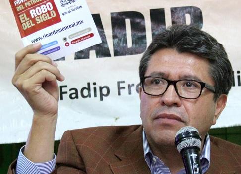 Ricardo Monreal es hombre cercano a Andrés Manuel López Obrador y puntal de Morena.