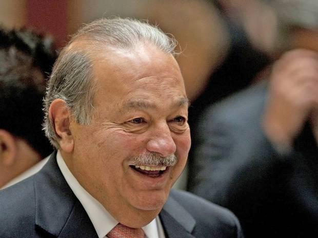 Carlos Slim, con sus empresas en telecomunicaciones también busca incursionar en el mercado de Alemania y Suiza.