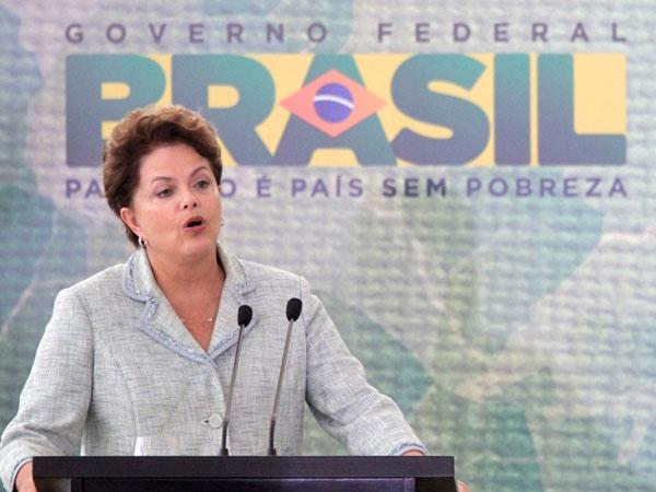 """El 65% de los brasileños encuestados creen que el gobierno de Dilma Rousseff es """"malo"""" o """"muy malo"""""""