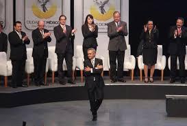 El jefe de Gobierno del Distrito Federal, Miguel Ángel Mancera, anunció y enroques en su gabinete leal y ampliado