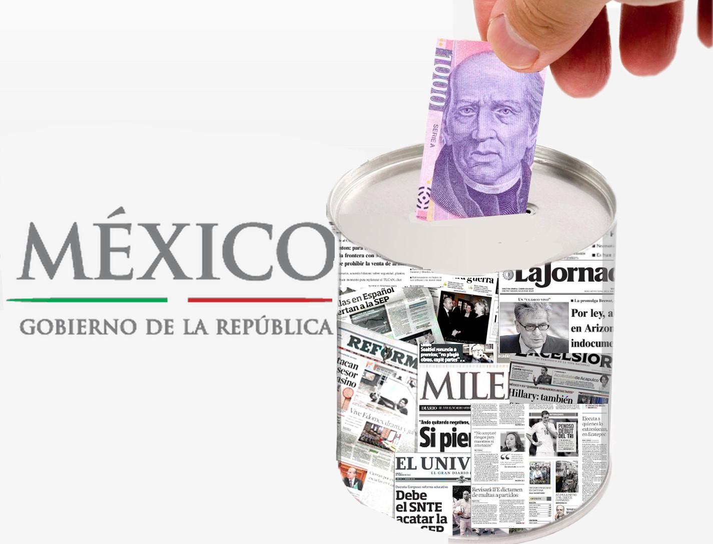 Actualmente el estado mexicano patrocina publicidad sin claridad y sin lectores como lo hacen la mayoría de empresas que reciben estos subsidios extraoficiales o extralegales, dice Raúl Trejo Delarbre