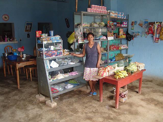 Abarrotes y alimentos son los micronegocios que más emprenden las familias receptoras de remesas.