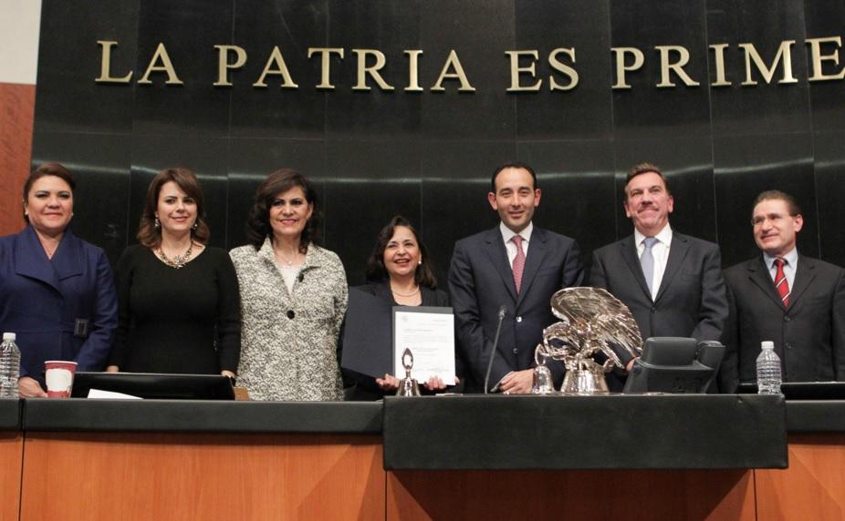 Los nuevos ministros de la SCJN, Javier Laynez Potisek y Norma Piña Hernández, ejercerán su cargo hasta el año 2030