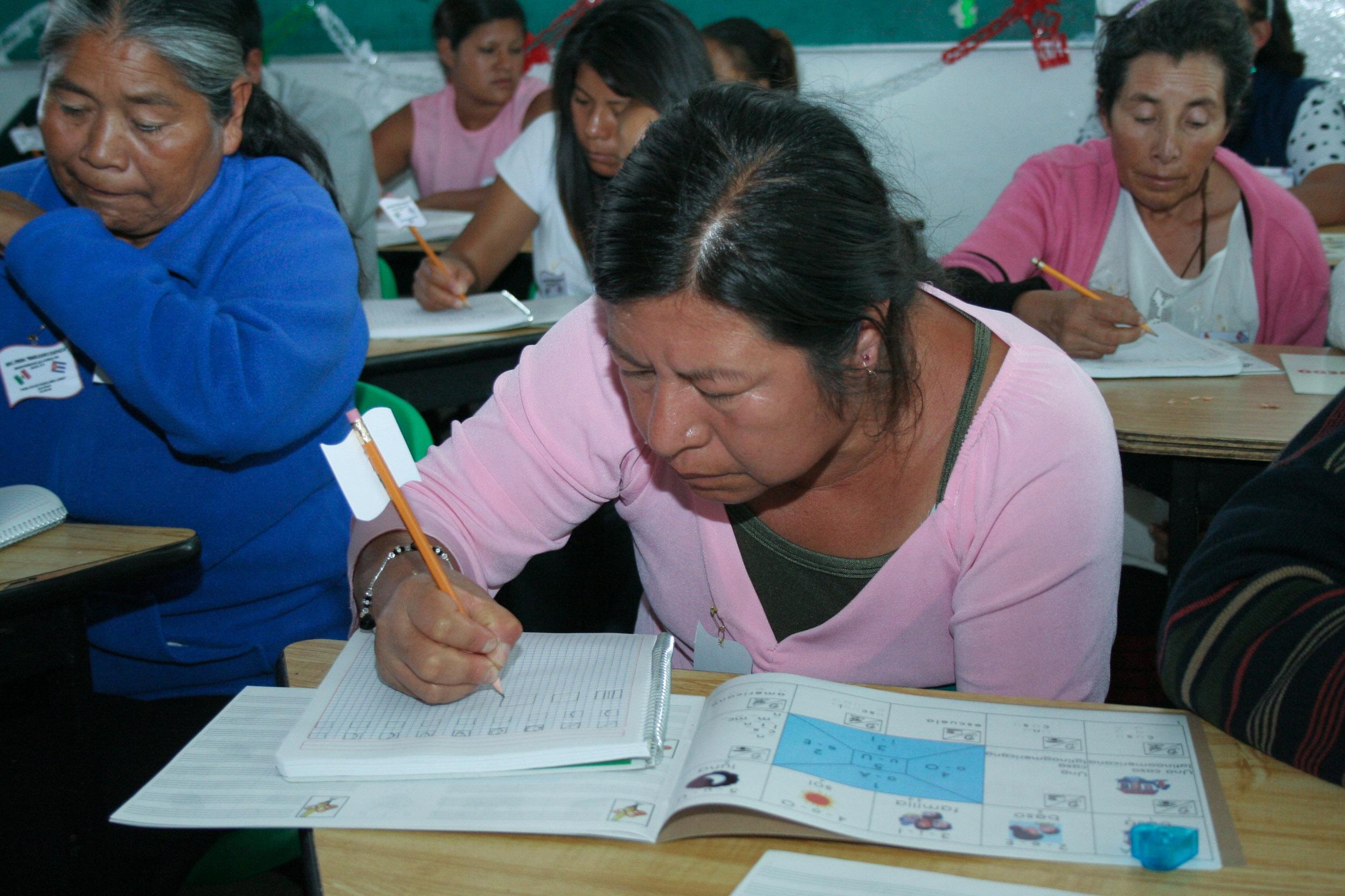 Los problemas económicos son la principal causa de que las personas no asistan a la escuela.