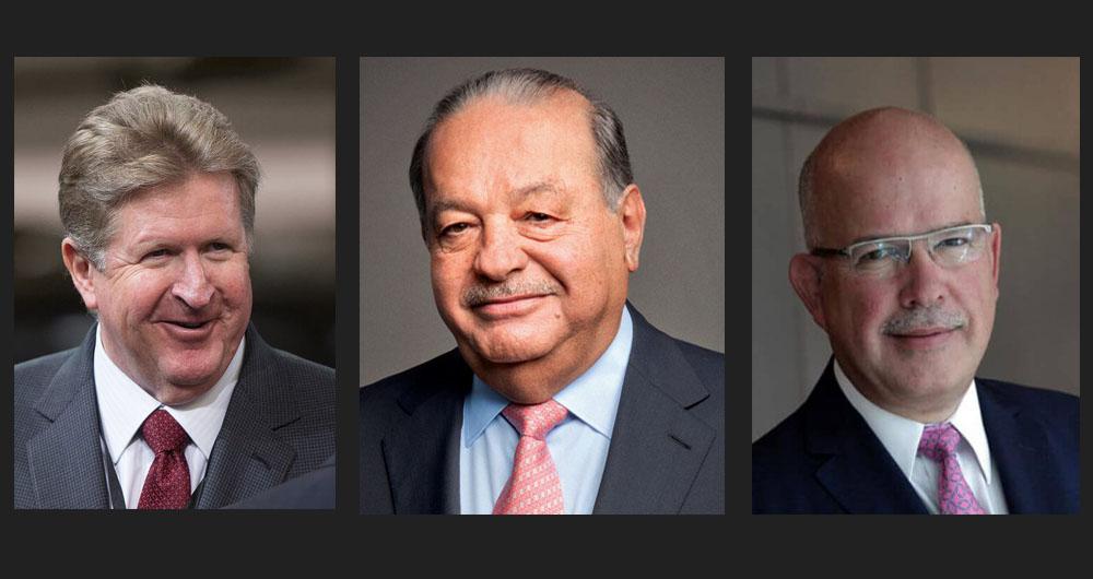 Germán Larrea, Carlos Slim y José Zozaya serán los grandes beneficiaros de la apertura del mercado de las gasolinas por la falta de infraestructura de transporte en el país.