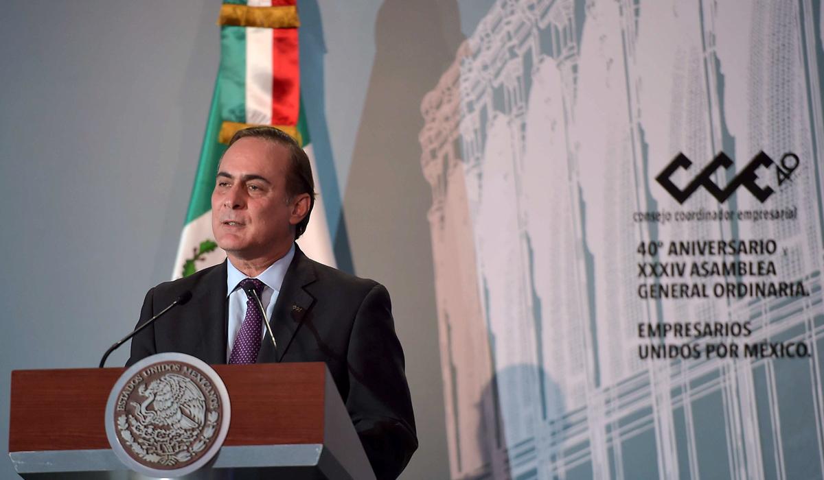 Juan Pablo Castañón recalcó que la inversión privada para 2017 sería de 3.5 billones de pesos para