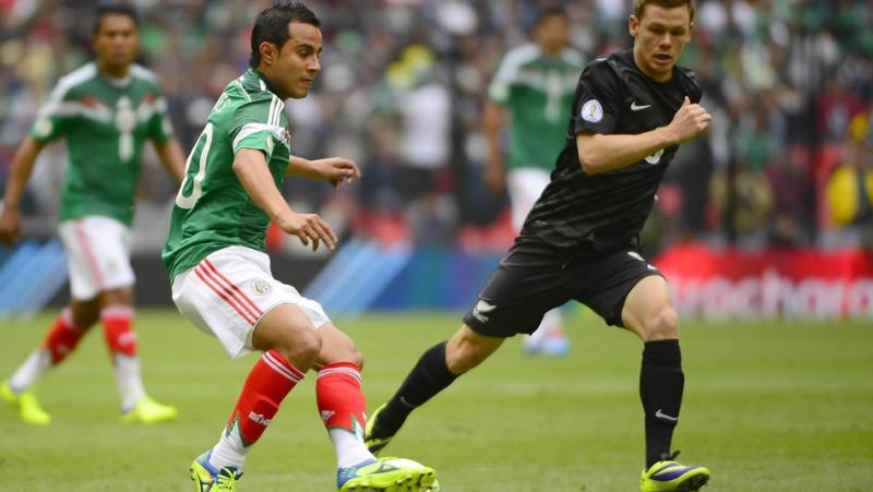 En 2013, México y Nueva Zelanda disputaron, en el repechaje, el pase al mundial. El Tri se impuso 9-3 en el global.
