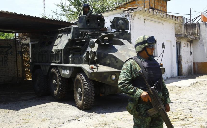 La elevada tasa de homicidios en el país deja mal parado a México ante diversos organismos.