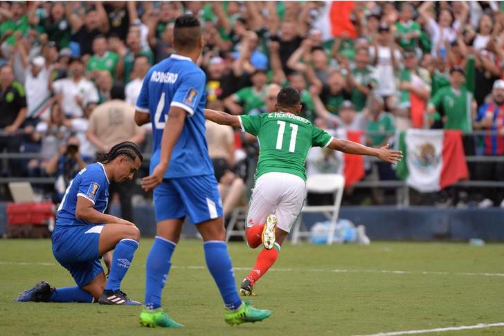 Resultado México vs El Salvador Copa Oro 2017 3-1.