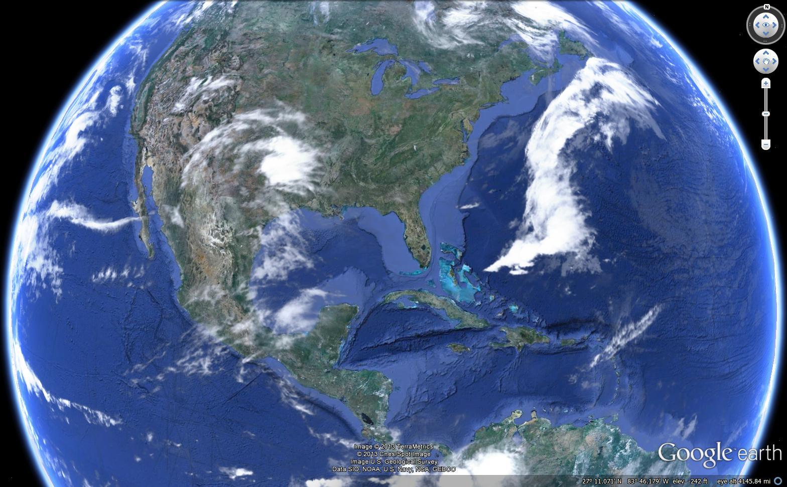 La aplicación está disponible en el sitio web de Google Earth, aunque aún no está integrada a la plataforma.