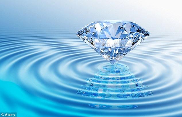 Los océanos de Neptuno y Urano podrían estar constituidos de diamante líquido.
