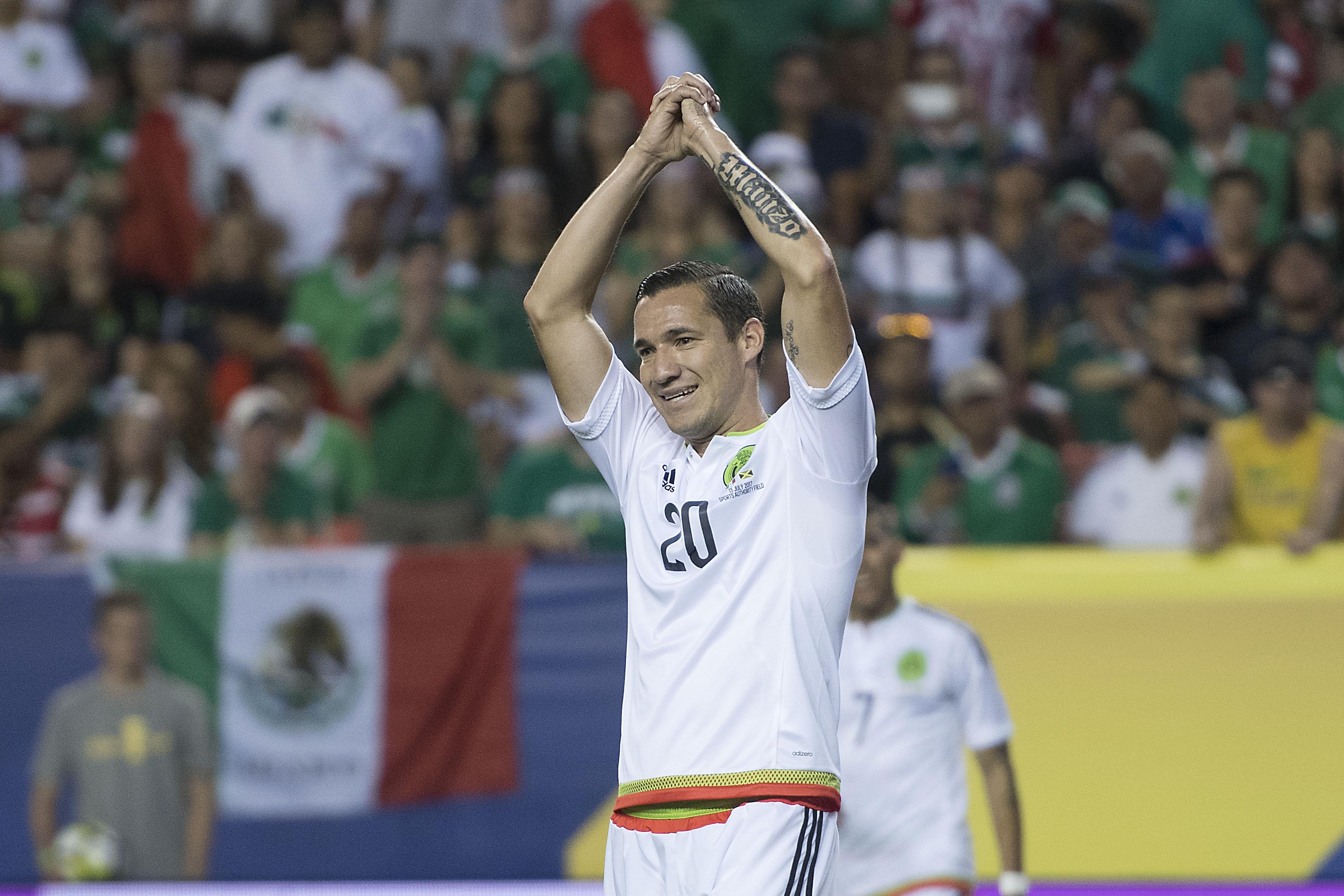 Jesús Dueñas se lamenta tras fallar una opción de gol