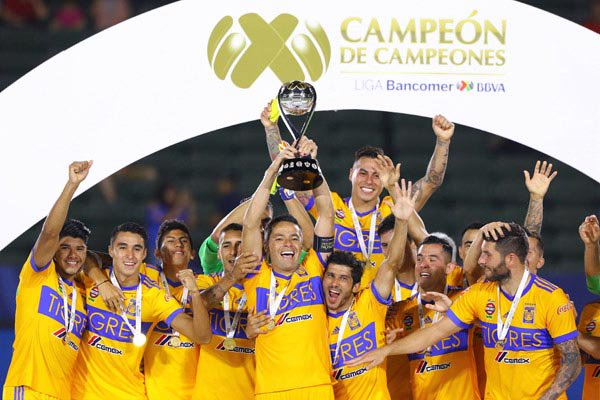 Tigres es campeón absoluto de la Liga MX