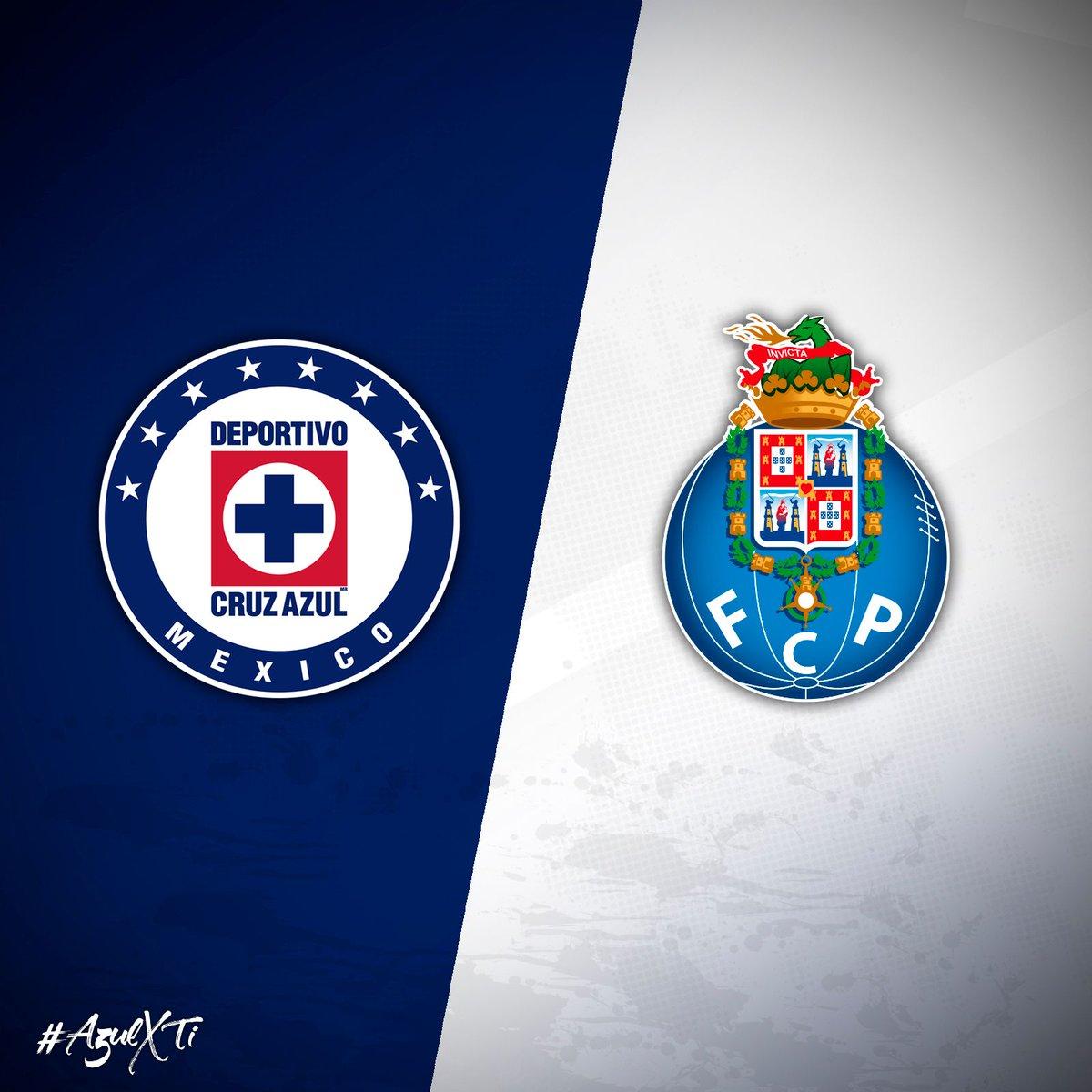 Cruz Azul y Porto se enfrentan en la Súper Copa Tecate