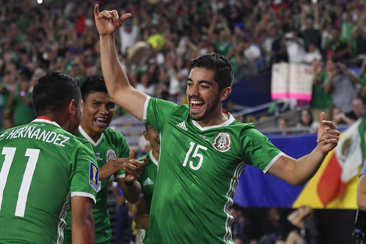 México continúa en la defensa de su título de la Concacaf
