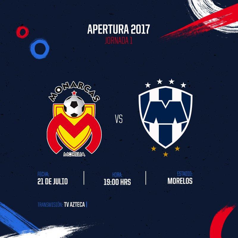 Rayados y Monterrey dan inicio al Apertura 2017