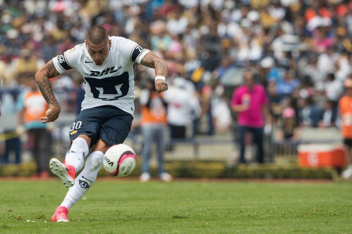 El chileno Nicolás Castillo marcó el gol de la diferencia ante Pachuca