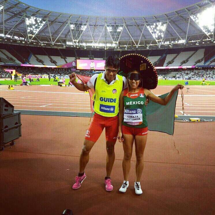 Diana Coraza consiguió el oro en los 800 metros