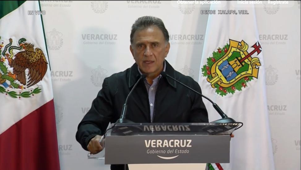 Yunes aportará pruebas a la PGR en caso contra Duarte